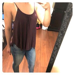 Purple American Eagle tank top